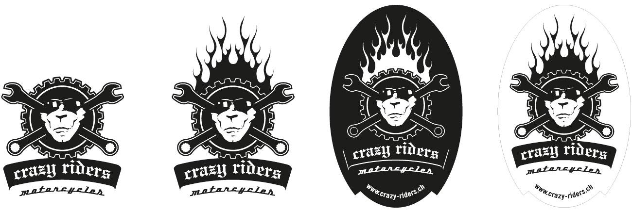 crazy riders – origins design